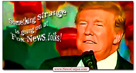 Donald Trump, Fox News, Strange