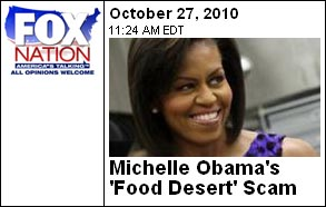 Michelle Obama Food Desert