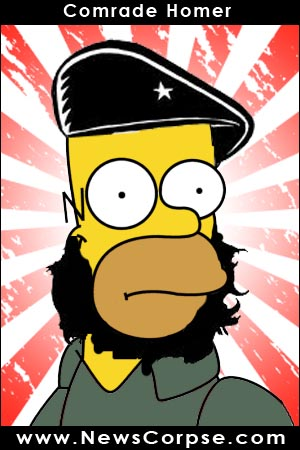 Comrade Homer Simpson