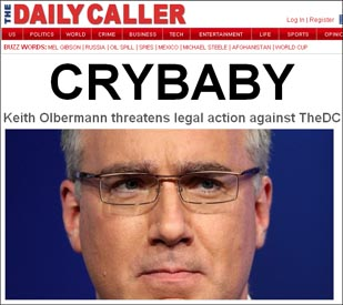 Daily Caller - Crybaby