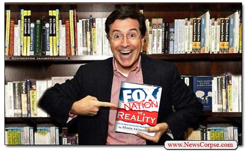 Fox Nation vs. Reality - Colbert
