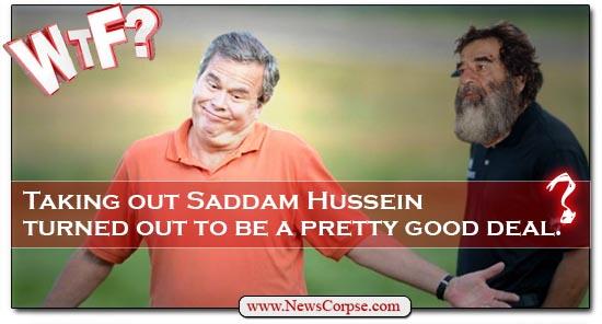 Jeb Bush - Saddam