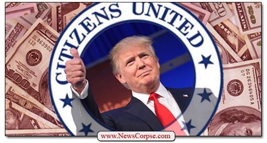 Citizens United Trump