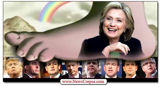 Clinton Beats GOP