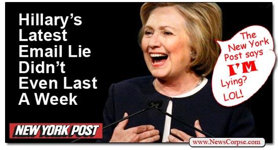 Hillary Clinton New York Post