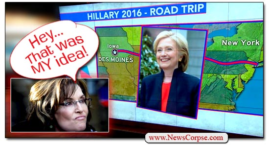 Clinton/Palin Bus Tour