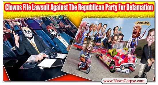 Clowns GOP Lawsuit