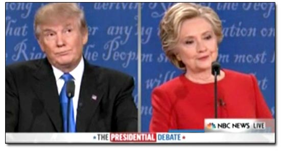 Debate Trump Clinton