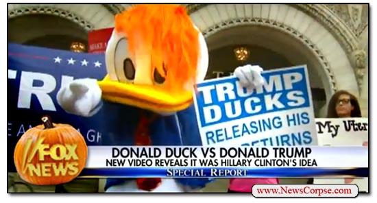 Fox News Donald Duck