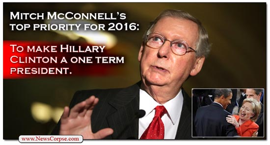 McConnell/Clinton One-Term
