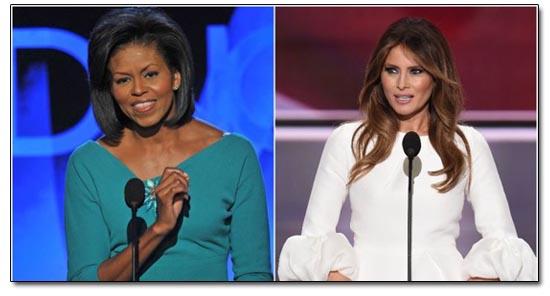 Michelle Obama/Melania Trump