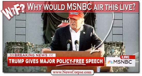 MSNBC Donald Trump