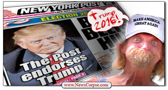 Donald Trump New York Post