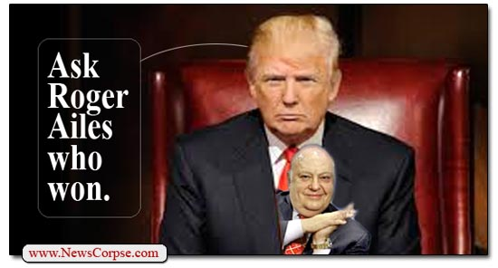 Donald Trump Roger Ailes