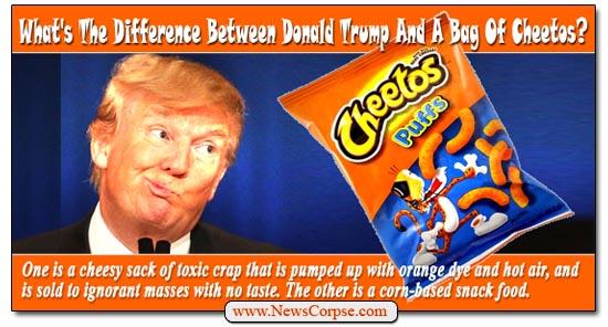 Donald Trump Cheetos