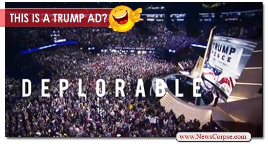 Trump Deplorable Ad