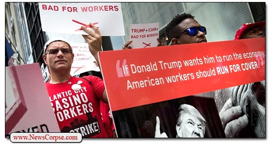 Trump Employees Strike
