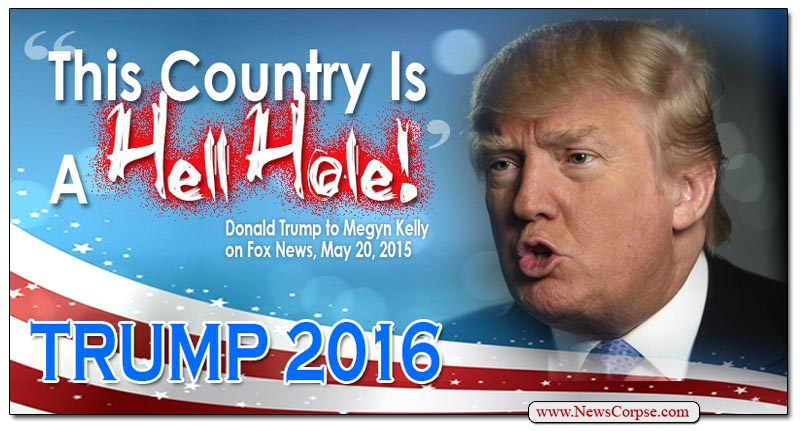 Donald Trump Hell Hole