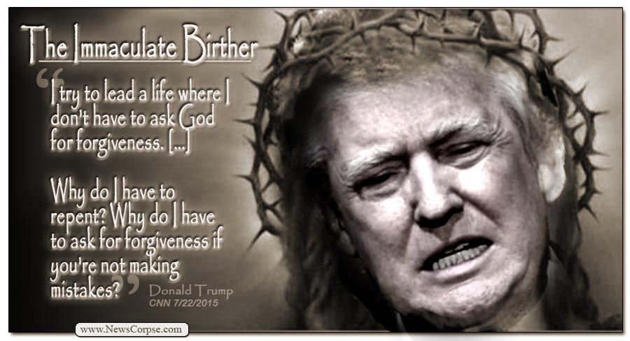 Donald Trump Immaculate Birther