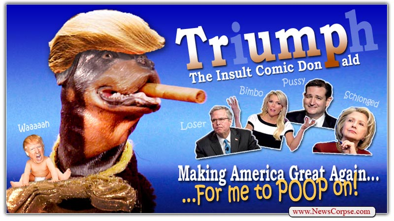 Donald Trump Insult Comic