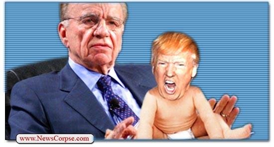 Donald Trump Rupert Murdoch