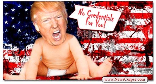 Donald Trump Crybaby