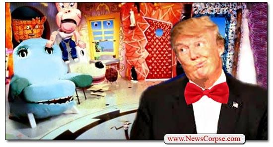 Pee Wee Donald Trump