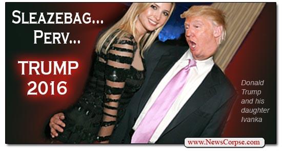 Donald Trump Perv