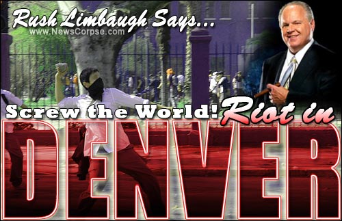 Rush Limbaugh Riot