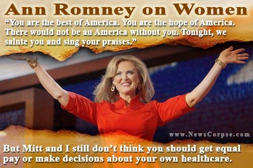Get a grip ann romney