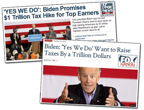 Fox News on Joe Biden