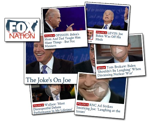Fox Nation - Biden Smiles
