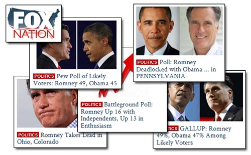 Fox Nation Polls - Romney Bump