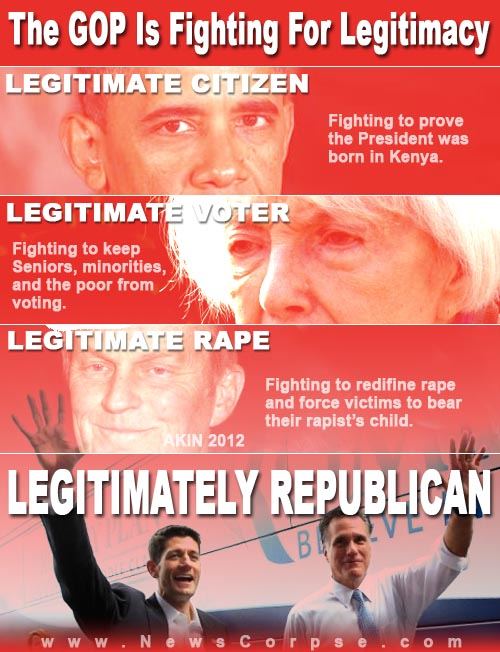 GOP Fighting For Legitimacy