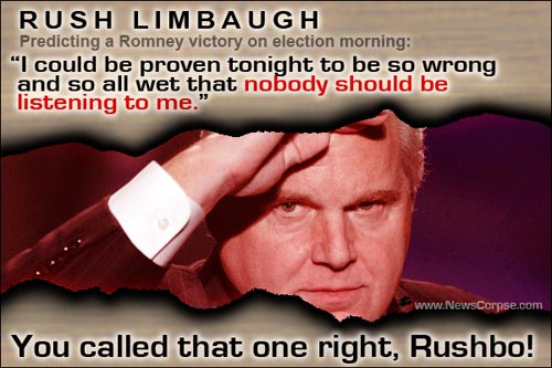 Rush Limbaugh - So Wrong