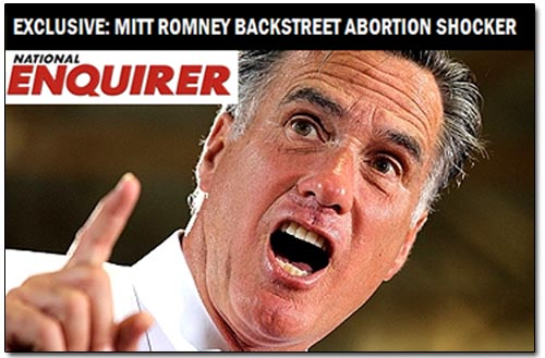 Mitt Romney Abortion Shocker
