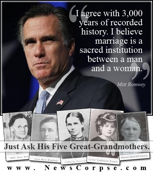 president romney polygamy books brigham young fan young 50 wives