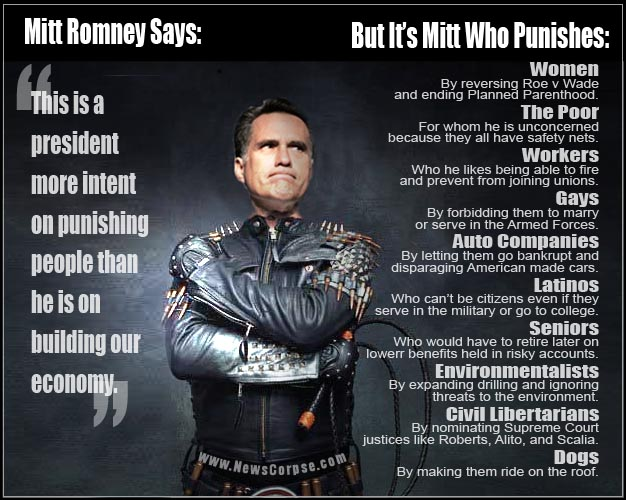 Mitt Romney - The Punisher
