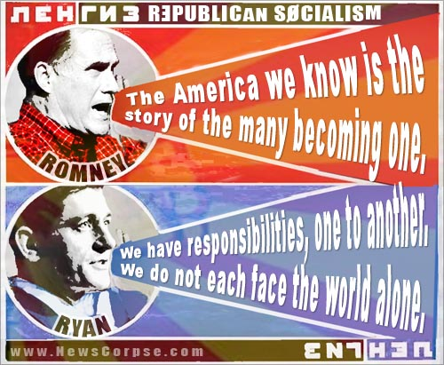 Romney Ryan Socialists