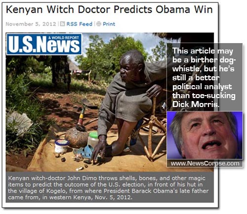 US News Kenyan Witch Doctor