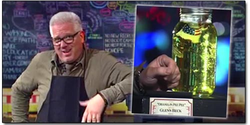 Glenn Beck Urine