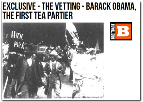 Breitbart - Obama First Tea Partier
