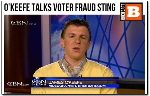 James O'Keefe CBN