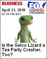 Fox Nation and the GEICO Gecko
