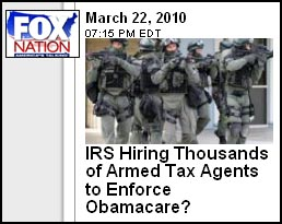 Fox Nation IRS Army