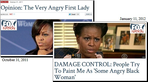 Image result for michelle obama angry black woman