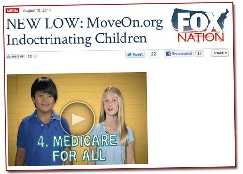 Fox Nation Indoctrinating Children
