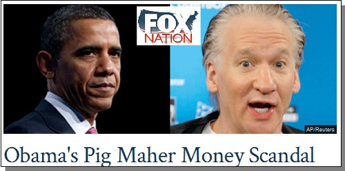 Fox Nation - Obama/Maher