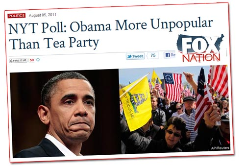 Fox Nation/Tea Party Poll