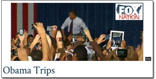 Fox Nation - Obama Trips